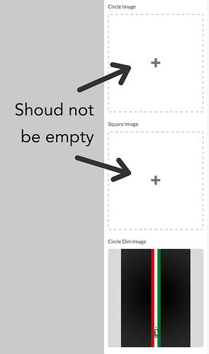 empty panels