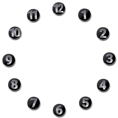 Metal Number Ring